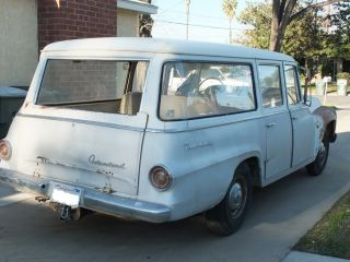 1965 International Travelall Harvester Custom Surf Wagon photo