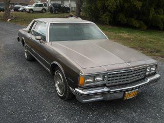 1984 Chevrolet 2door Caprice photo