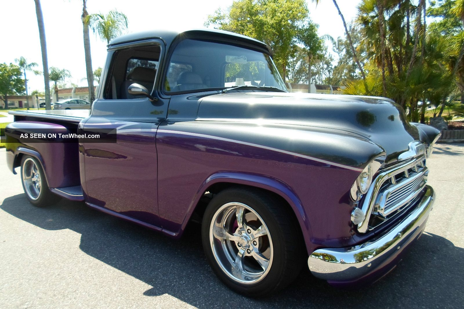 1957 Chevy Chevrolet Short Bed Pro Touring Show Truck Pickup