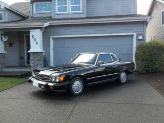 1986 Mercedes - Benz 560 Sl photo