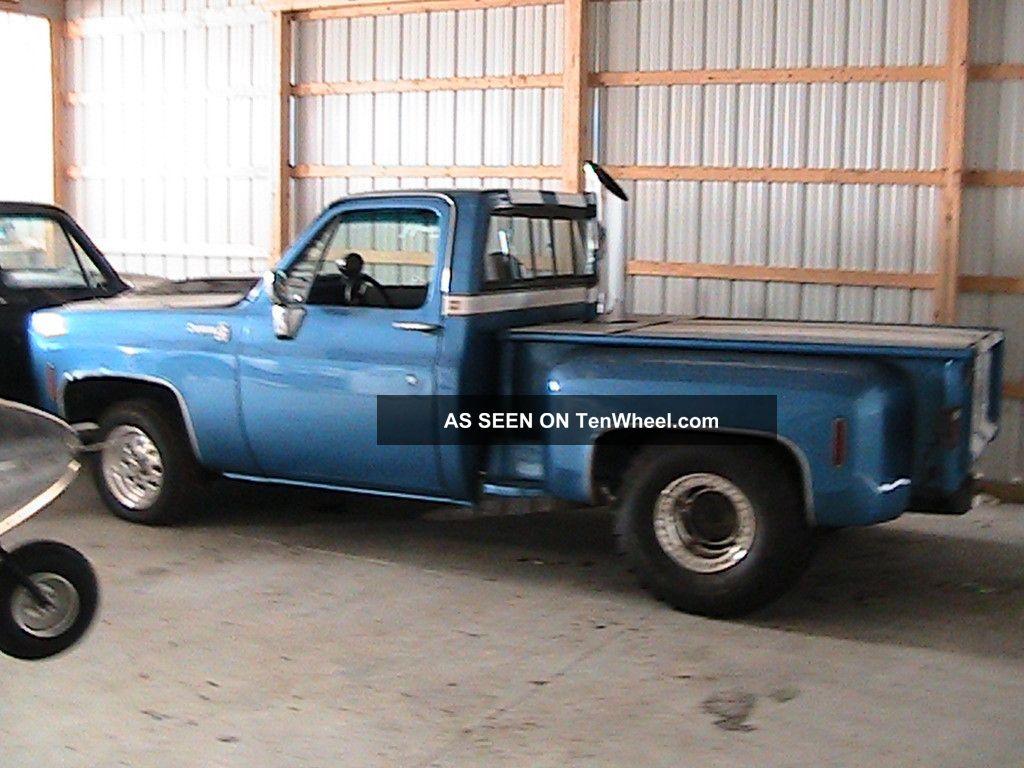 1976 chevrolet k10 pickup interior 157719 - 1976