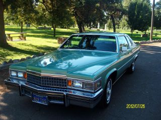 1978 Cadillac Deville D ' Elegance Coupe 2 - Door 7.  0l photo