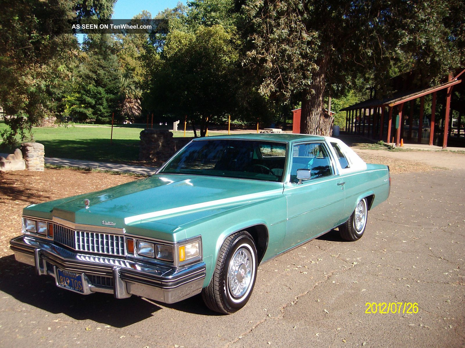1978 Cadillac Deville D Elegance Coupe 2 Door 7 0l Sedan
