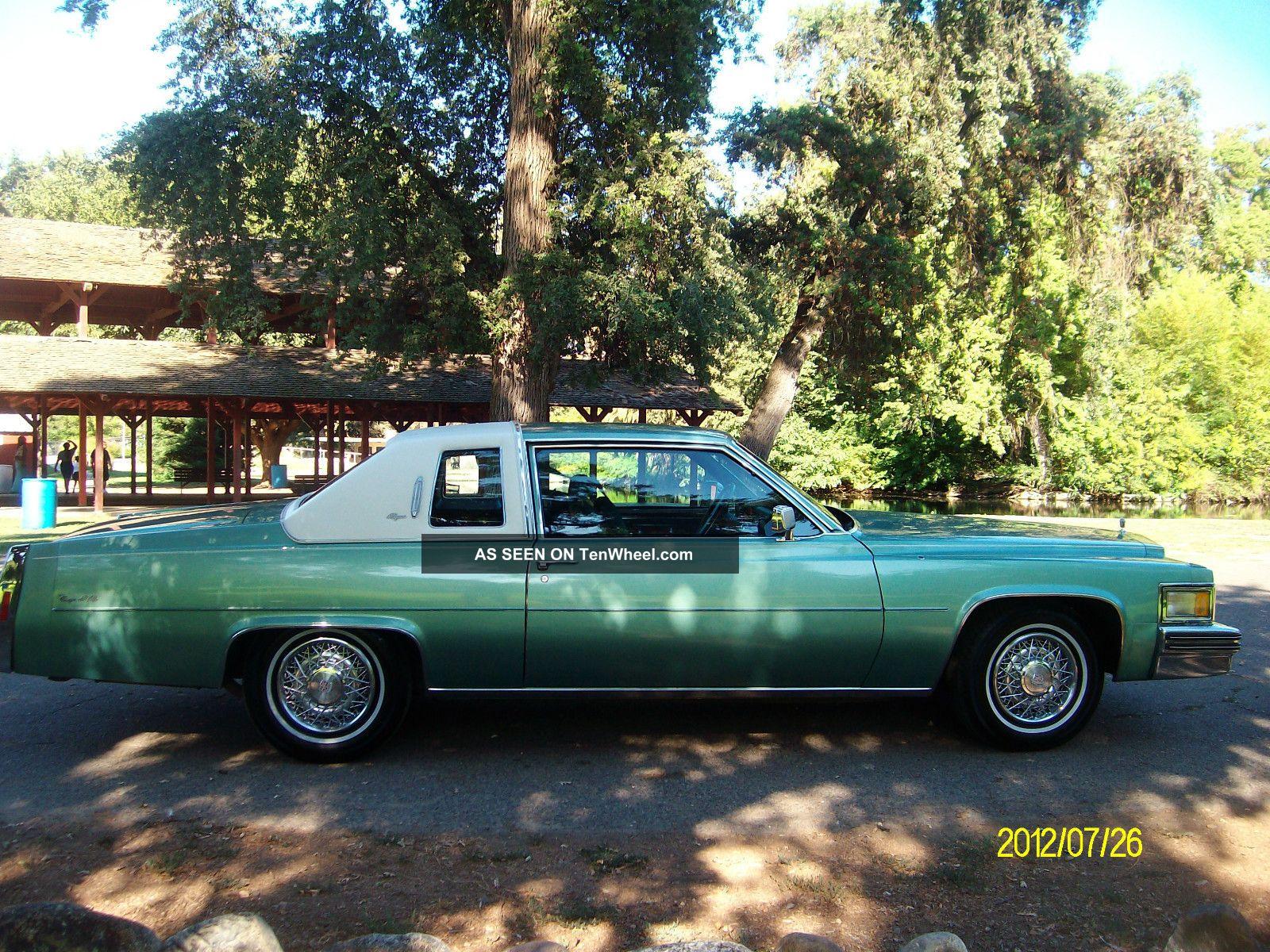 1978 Cadillac Deville D Elegance Coupe 2 Door 7 0l Sedan