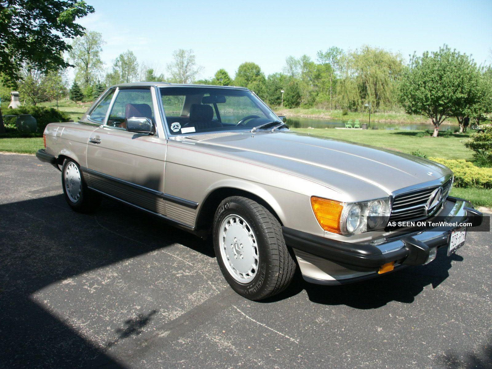 1987 mercedes benz 560sl stunning condition roadster for Mercedes benz 1987