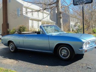 1965 Chevy Corvair Monza Convertible. .  Condition photo