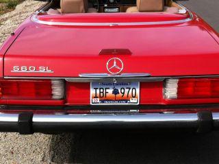 1988 Mercedes Benz 560 Sl photo