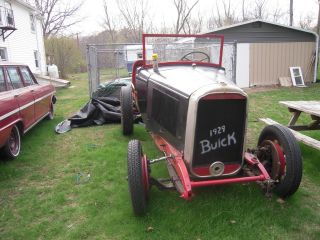 Running And Driving 1929 Buick photo