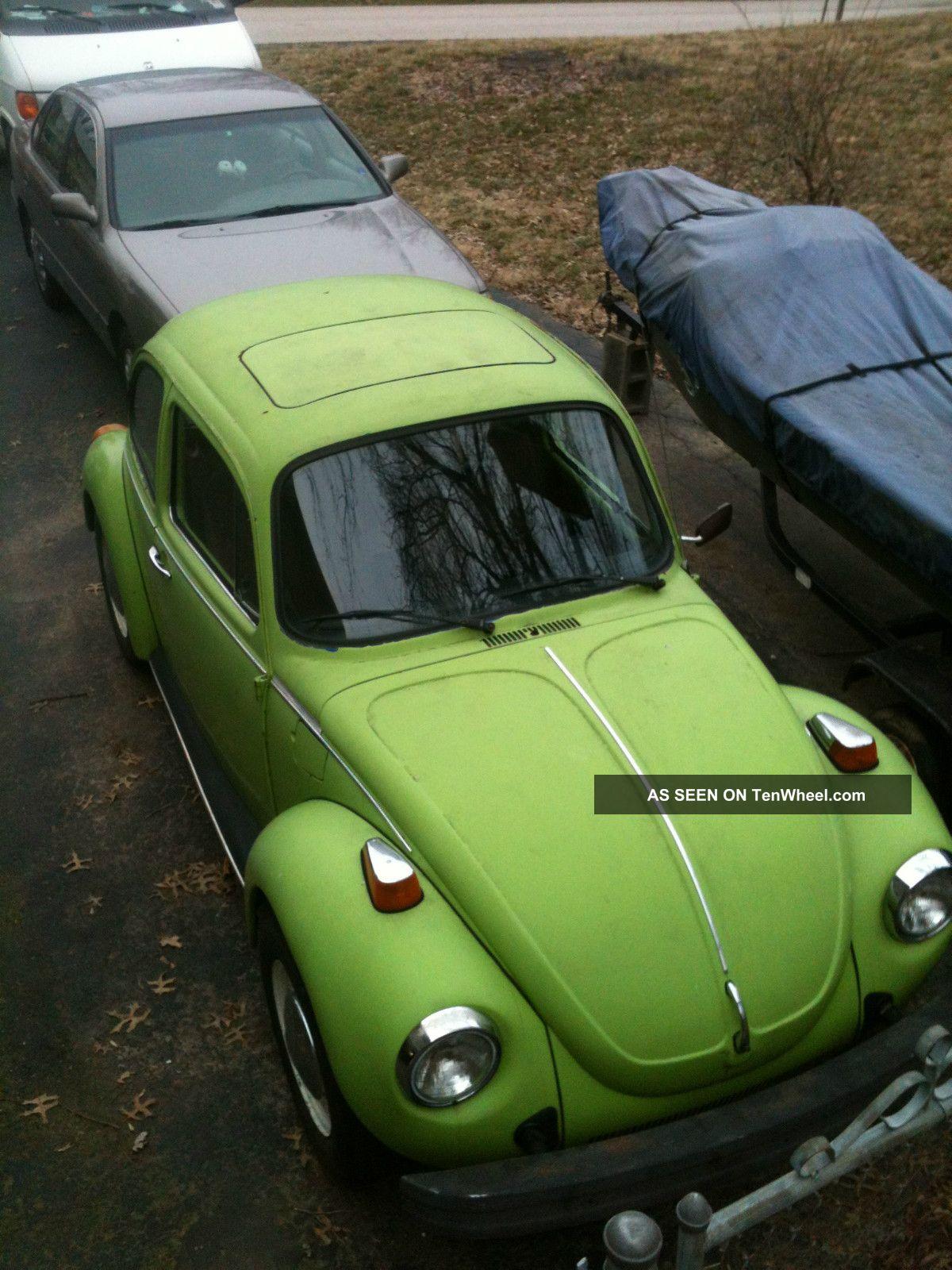 1975 Volkswagen Beetle Base Sedan 2 - Door 1.  6l Beetle-New photo