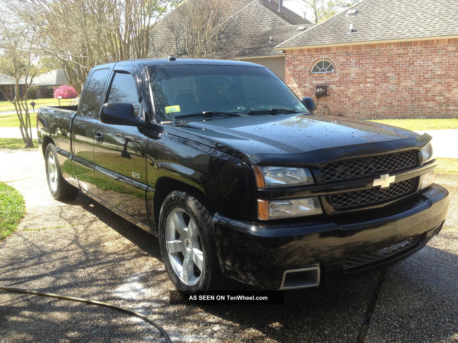 2003 chevrolet silverado ss black. Black Bedroom Furniture Sets. Home Design Ideas