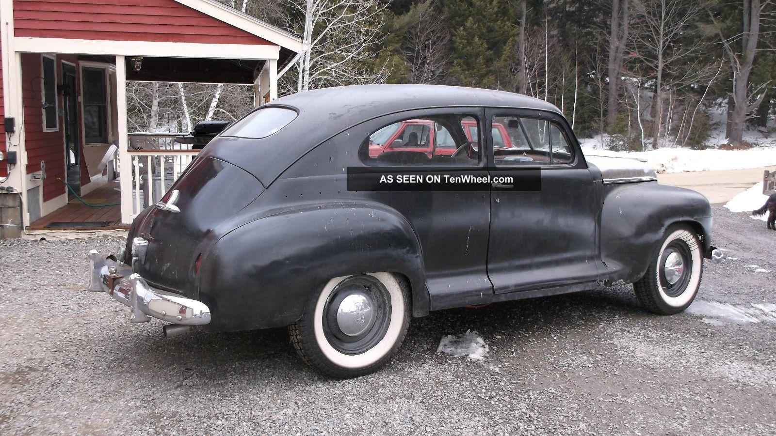 1948 plymouth 2dr sedan chevy powered v8 rat rod oldskool new for 1948 dodge 2 door sedan