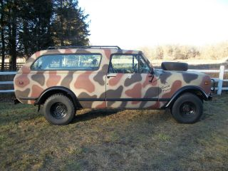 1979 International Scout Ii Traveler Sport Utility 2 - Door 5.  0l photo