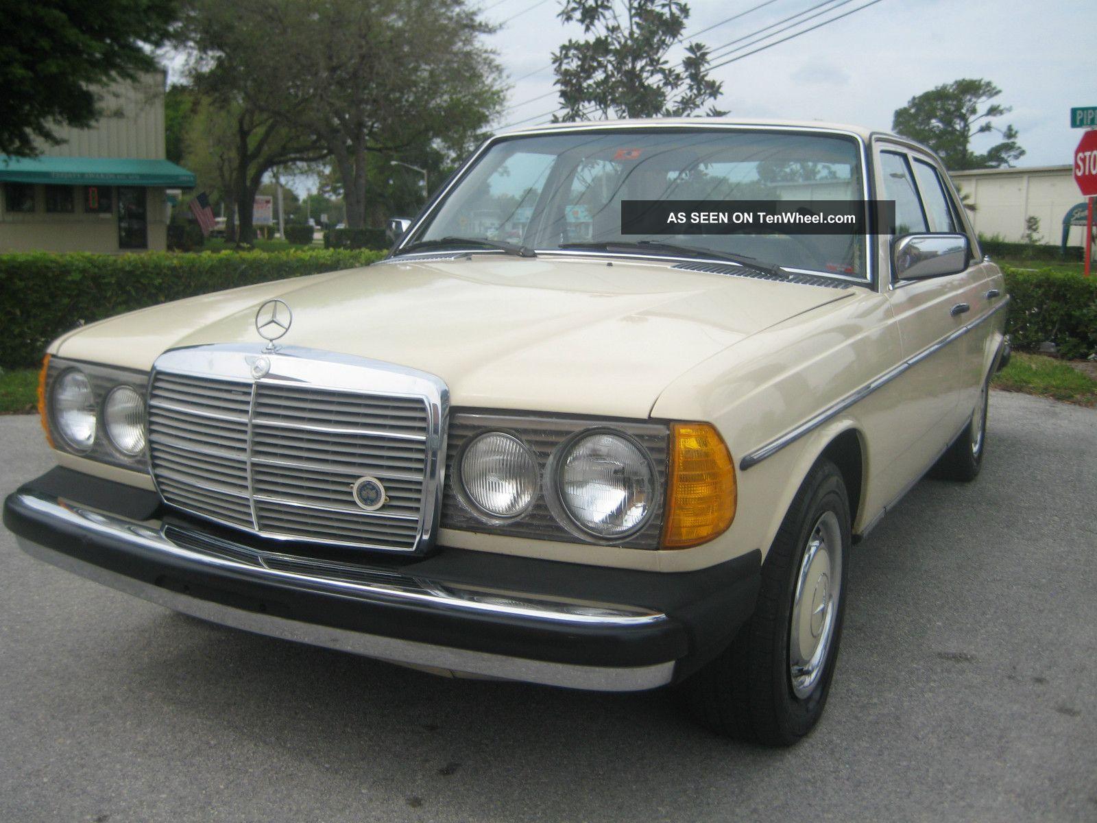 1978 mercedes benz 300d