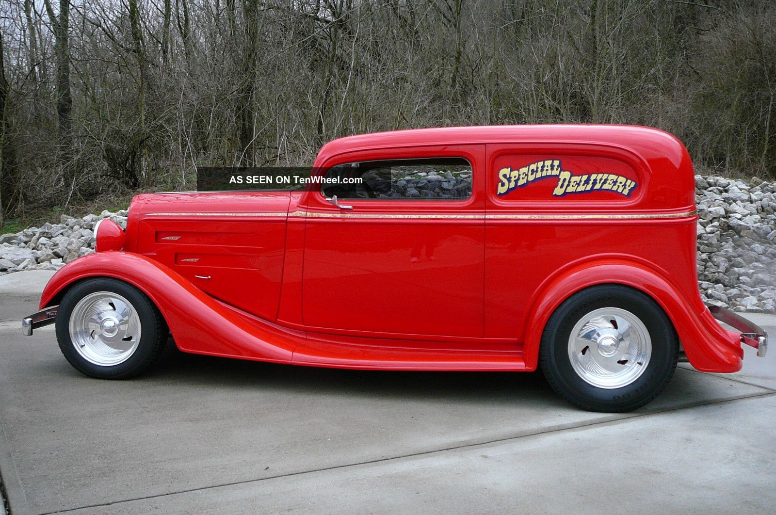 1934 Chevrolet 1932 Ford Sedan Delivery Street Rod Rat