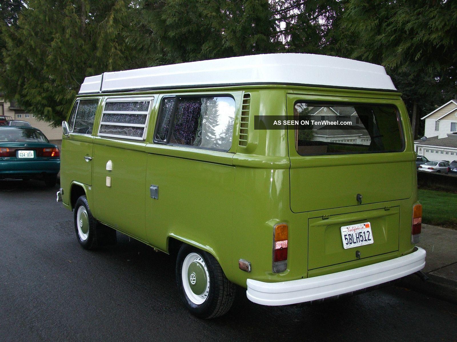 1976 volkswagen bus westfalia camper edition. Black Bedroom Furniture Sets. Home Design Ideas