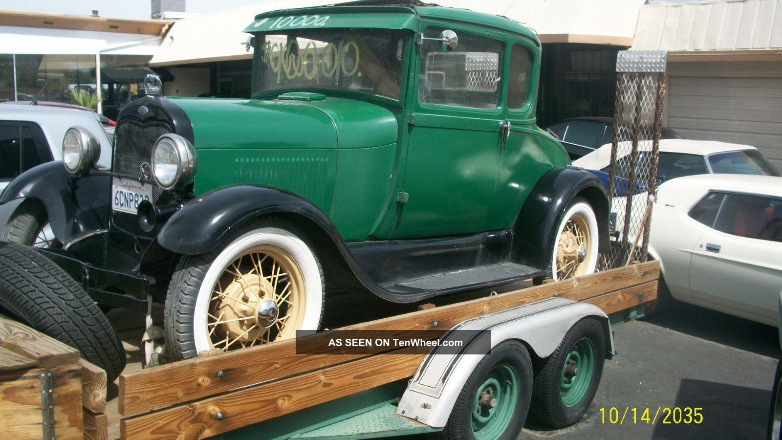 1929 model a 2 door coupe all origanal henry ford steel for 1929 model a 2 door sedan
