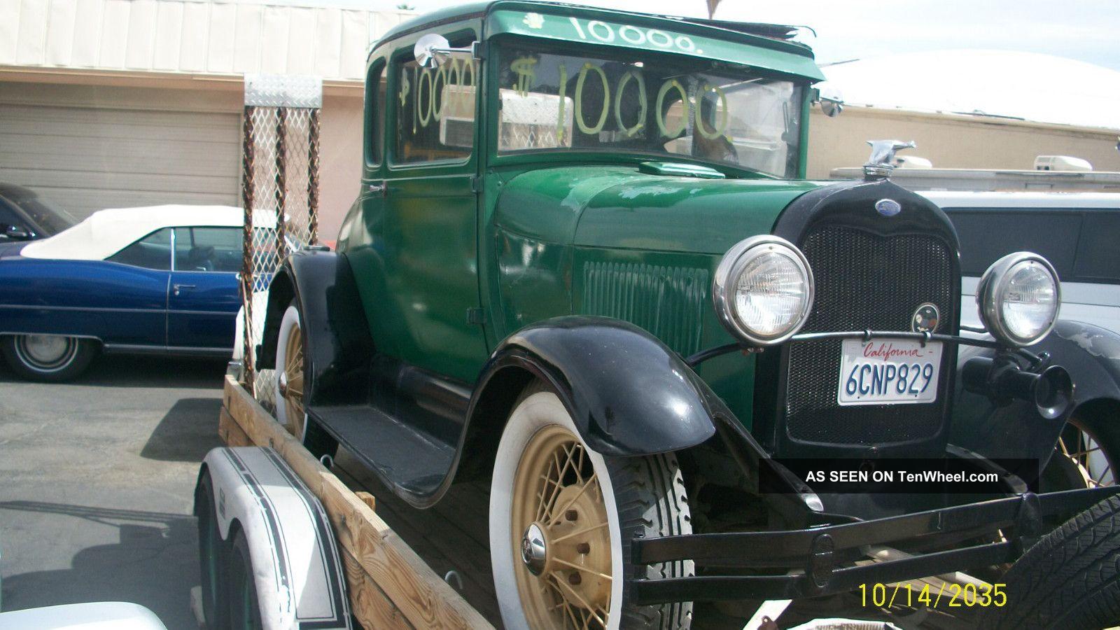 1929 model a 2 door coupe all origanal henry ford steel for 1929 dodge 4 door sedan