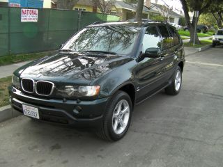 2001 Bmw X5 3.  0i Sport Utility 4 - Door 3.  0l photo