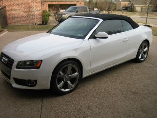 2012 Audi A5 Quattro Cabriolet Convertible W / Premium Plus Package photo
