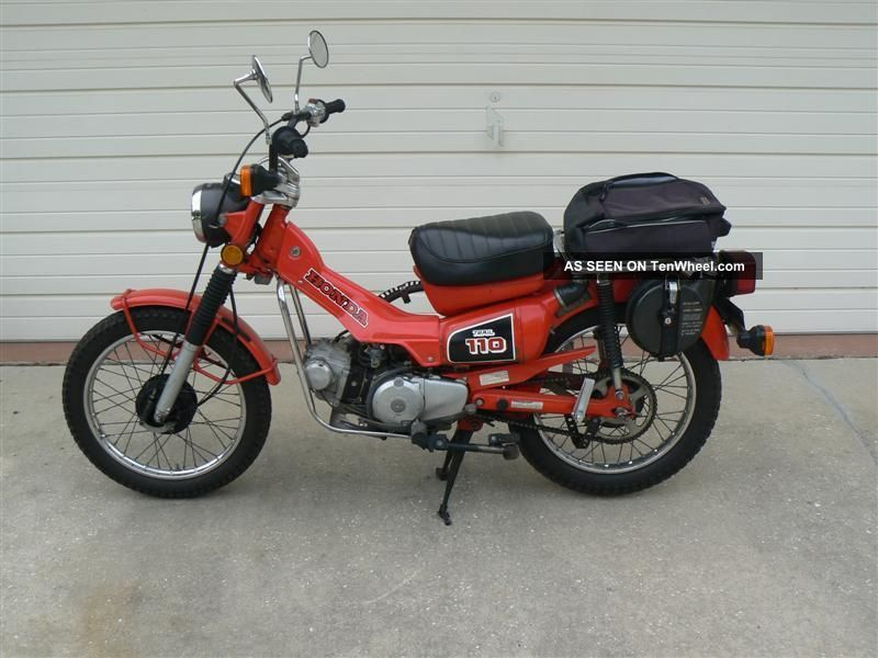 1980 honda ct110 excellant cond 1 kick start for Honda in ct
