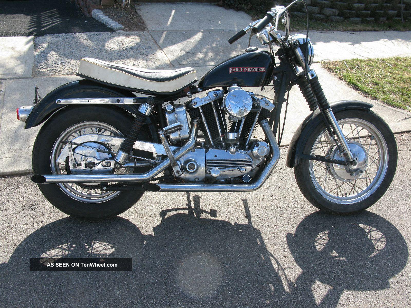 WRG-1822] Harley 1968 Xlch Wiring Diagram