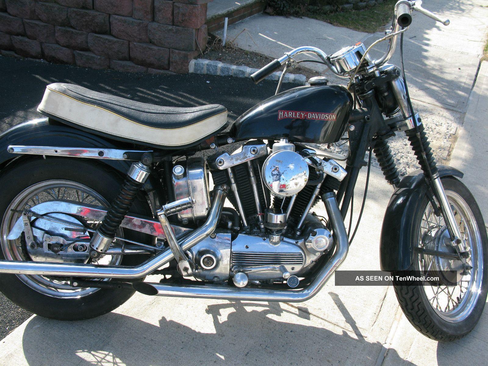 1968 Harley Sportster Xlch