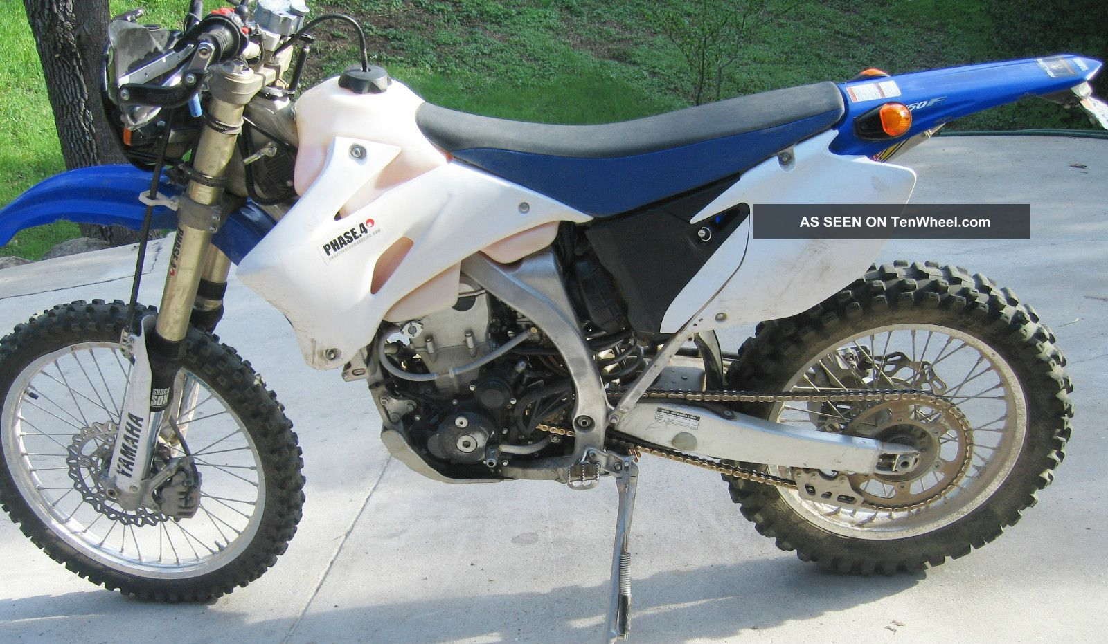 Yamaha dual sport 450