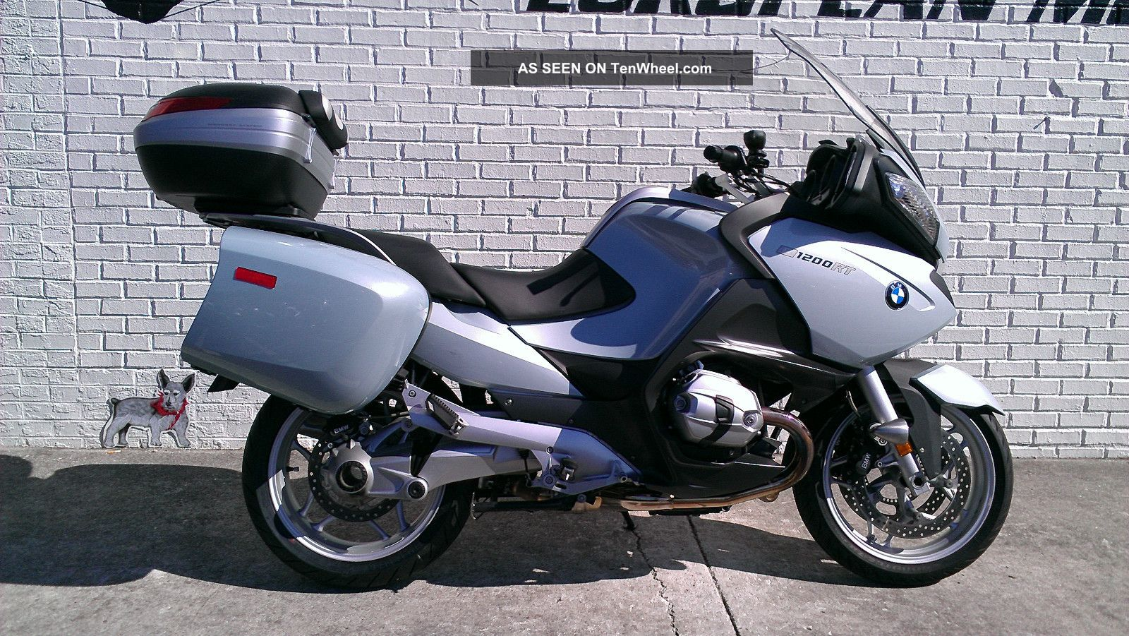 2010 Bmw R1200 Rt With Extras R 1200 Rt Other photo