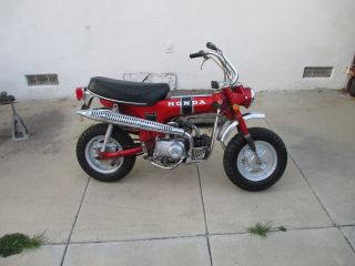 Vintage 1970 Honda Ct70,  Trail,  Enduro,  Ahrma.  Looks Take A Look photo
