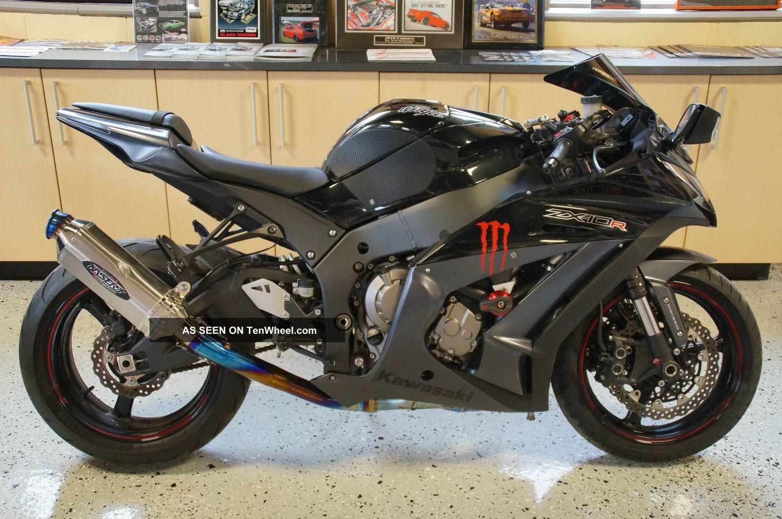 2012 Zx10r Ninja Kawasaki 1000 Black