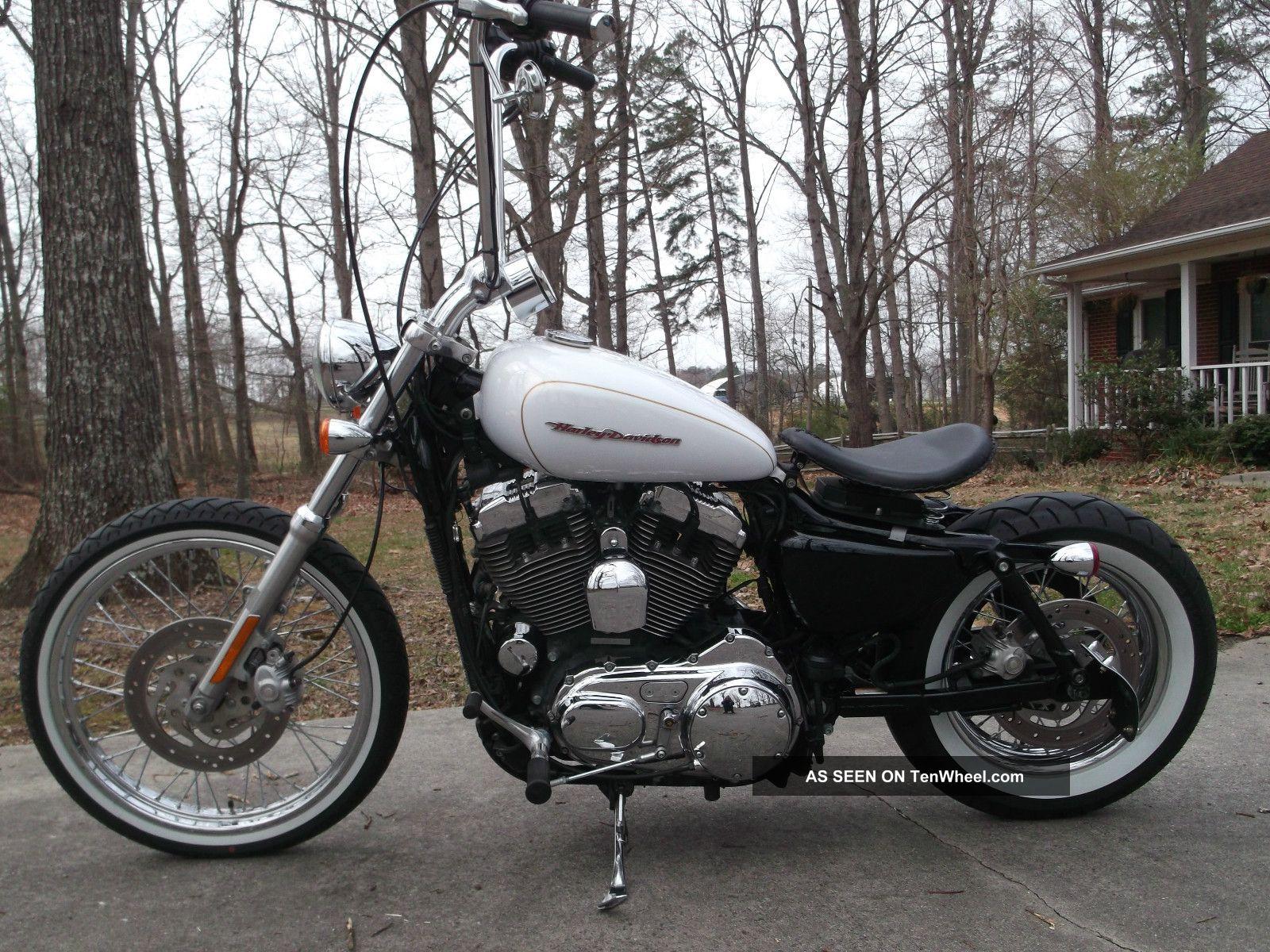 2007 Harley Davidson Sportster 1200c Custom Bobber Chopper