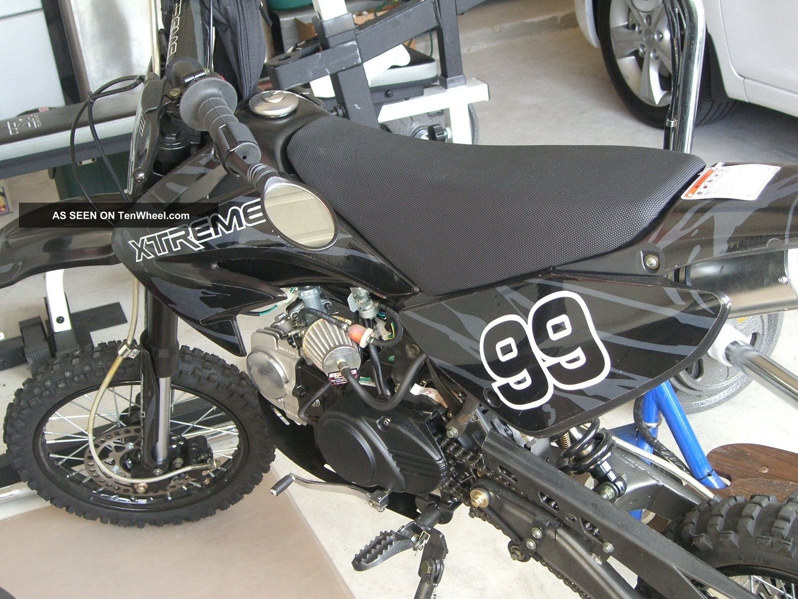 2012 Apollo Adp - 125 X - Treme 125cc Off - Road Motorcycle (accessories Included) Other Makes photo