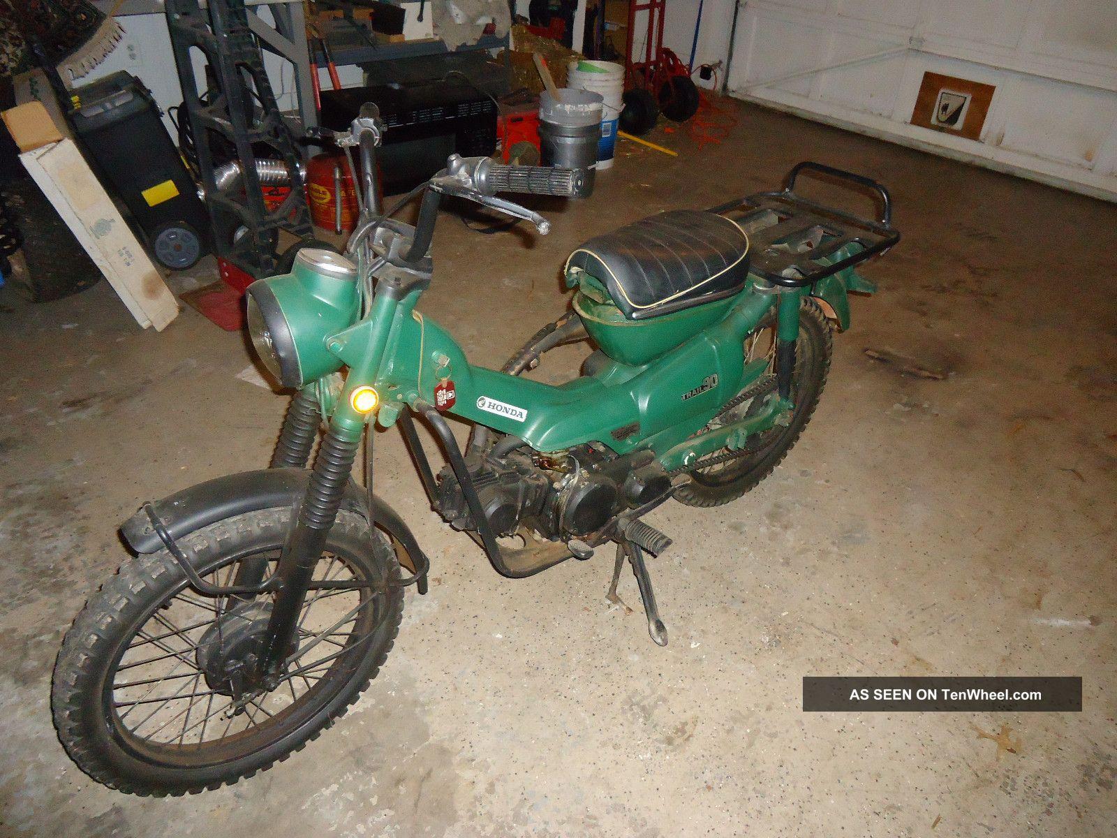 honda ct 90 trail motorcycles