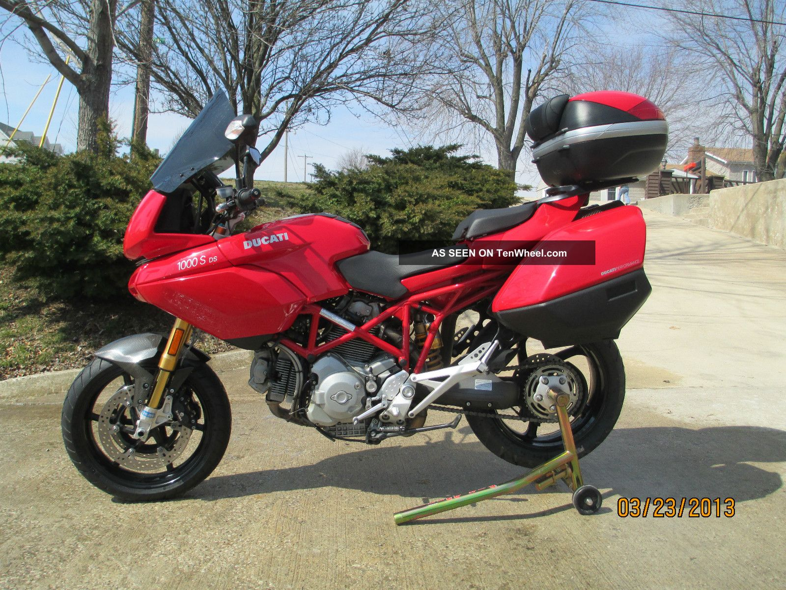 2005 ducati multistrada 1000s ds sport touring. Black Bedroom Furniture Sets. Home Design Ideas