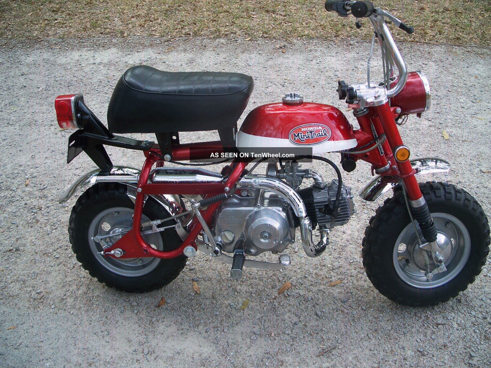 starting a restoration project honda ct70 minibike ar15 com
