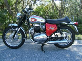 1970 Bsa A - 65 Lightning photo