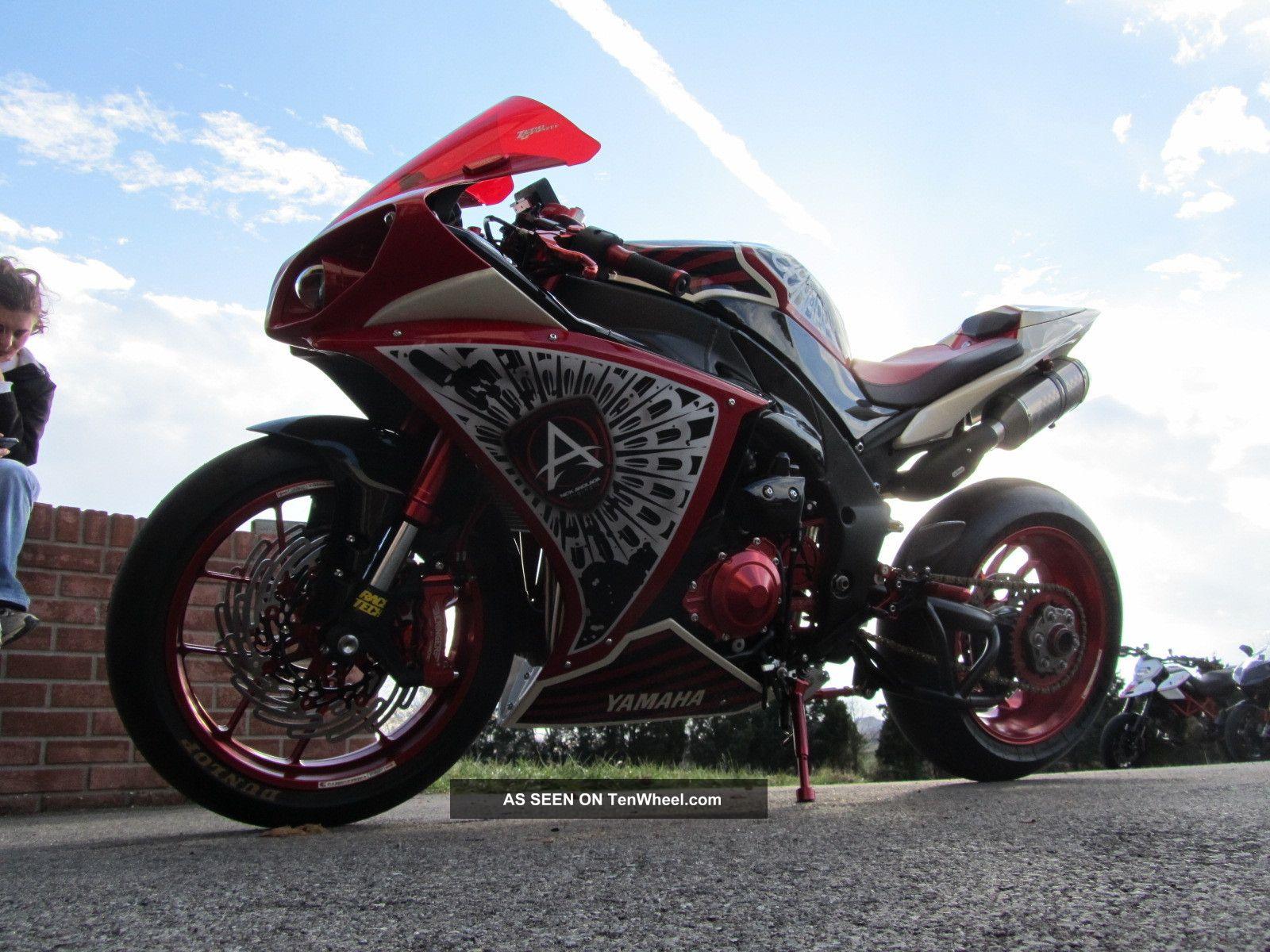 2009 Yamaha R1 Single Sided Swingarm Boz Bros Bike