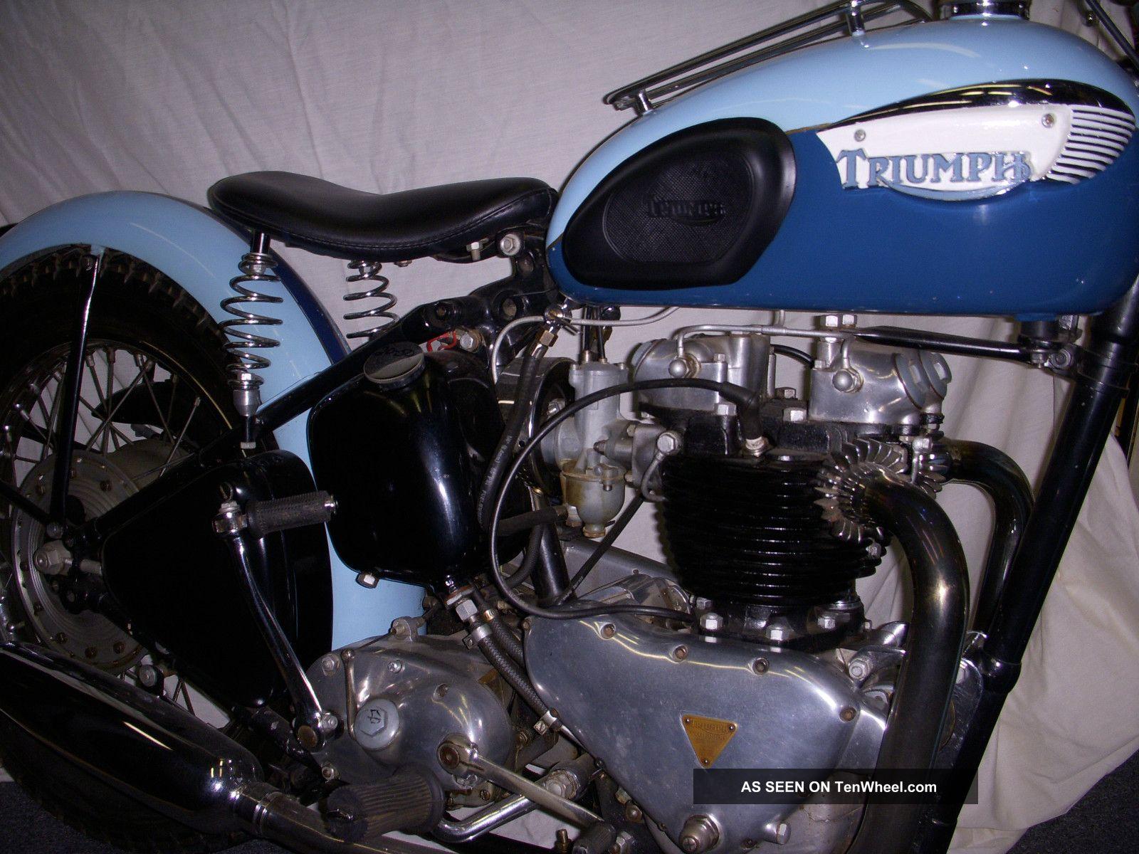 1951 Triumph 650 Thunderbird Thunderbird photo