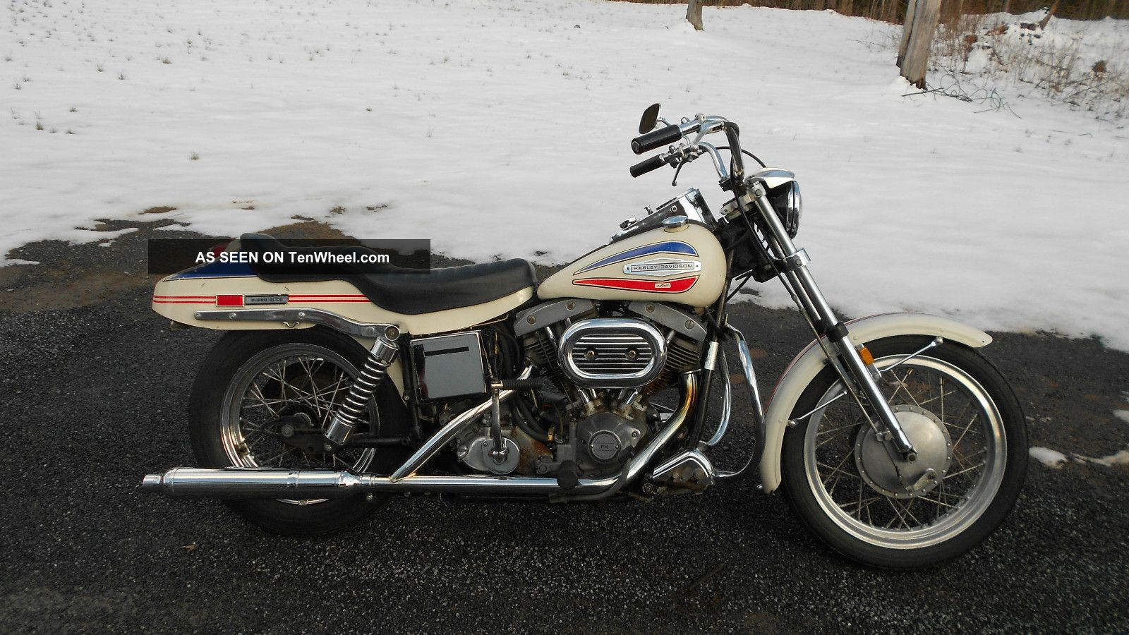 1971 Harley Fx Superglide Night Train Paint