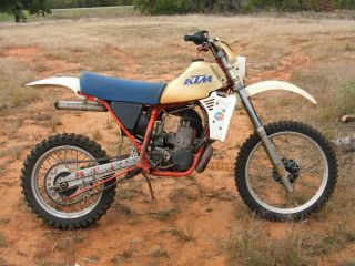 1983 Ktm 250 Mx Vintage Motocross Motocycle - Low Usage photo