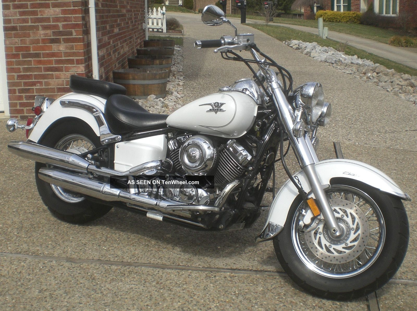 2009 yamaha v star 650 classic in and needing no reconditioning. Black Bedroom Furniture Sets. Home Design Ideas