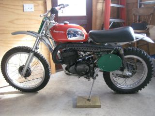 1973 Husqvarna Cr - 250 Condition photo