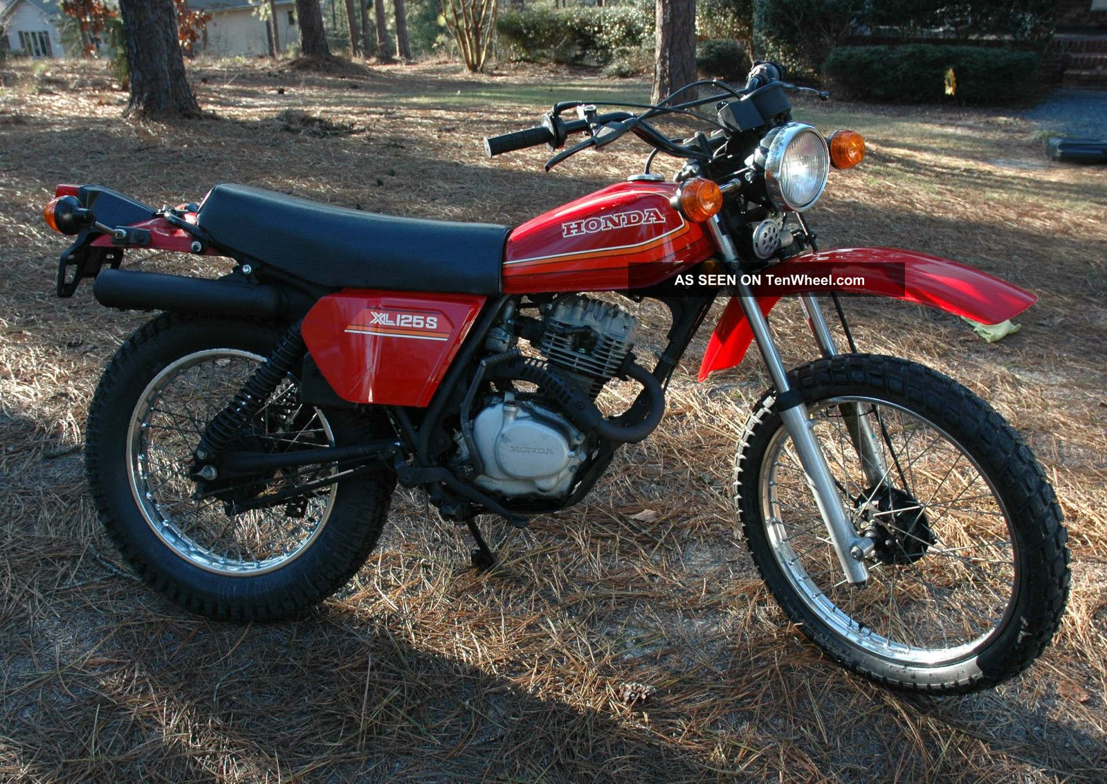 1980 honda xl125 for 1980s honda motorcycles