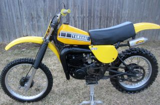 1977 Yamaha Yz250 Yz 250 Ahrma Vintage Motocross Dirt Bike Nr photo