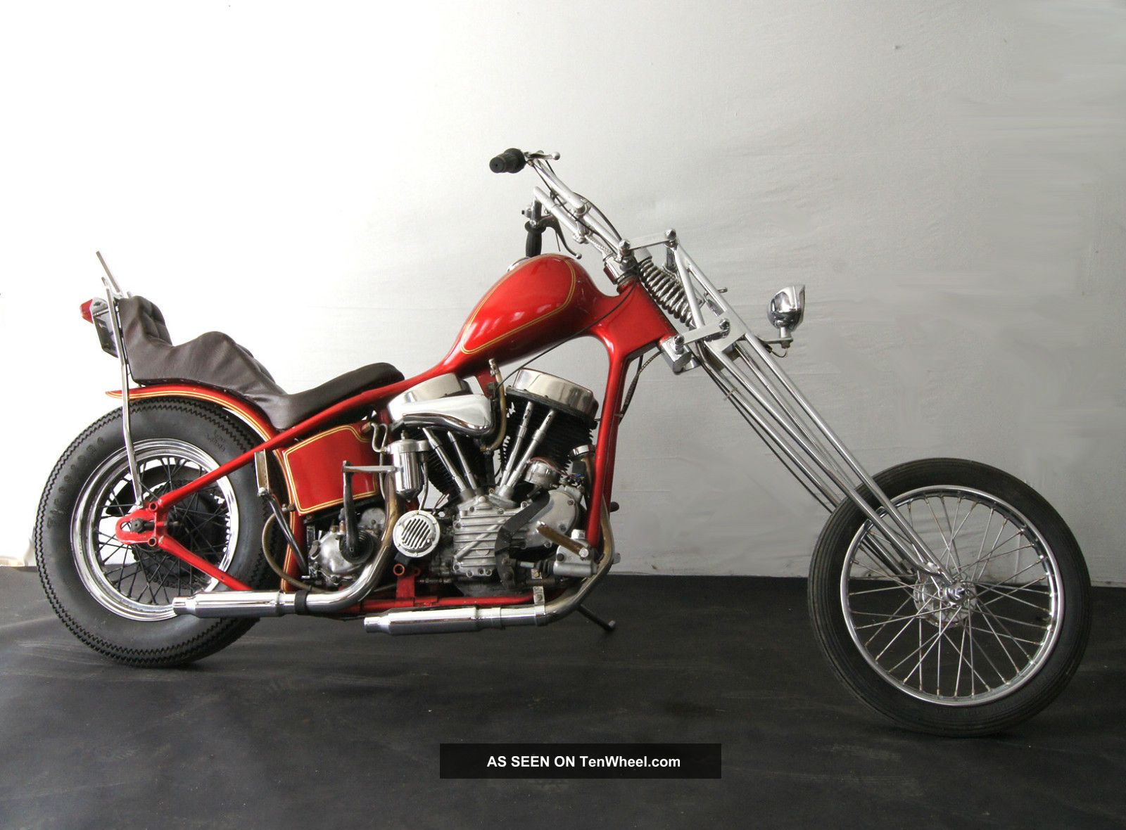 1948 Panhead Survivor Harley Chopper Vintage Rare Layaway ...