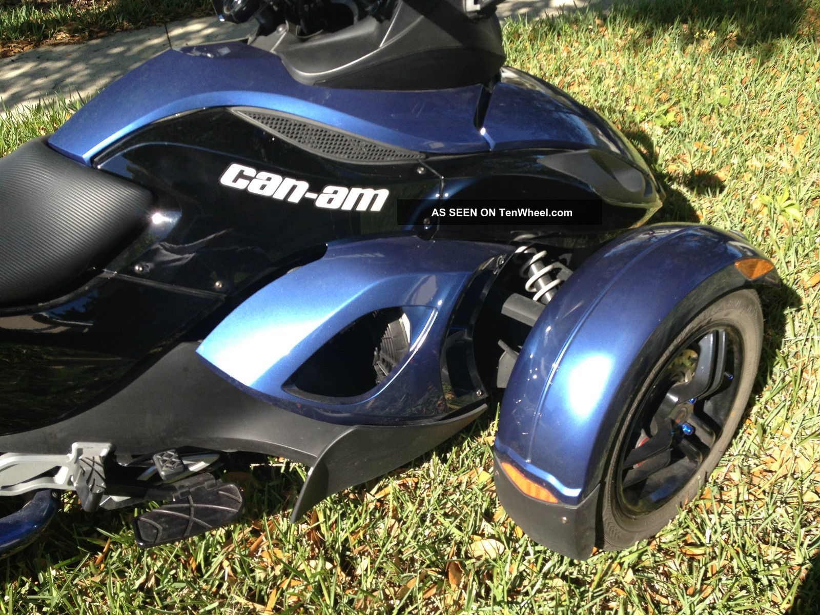 2008 Can Am Spyder Gs Premiere Edition 2114 Canam Spider Rare Blue