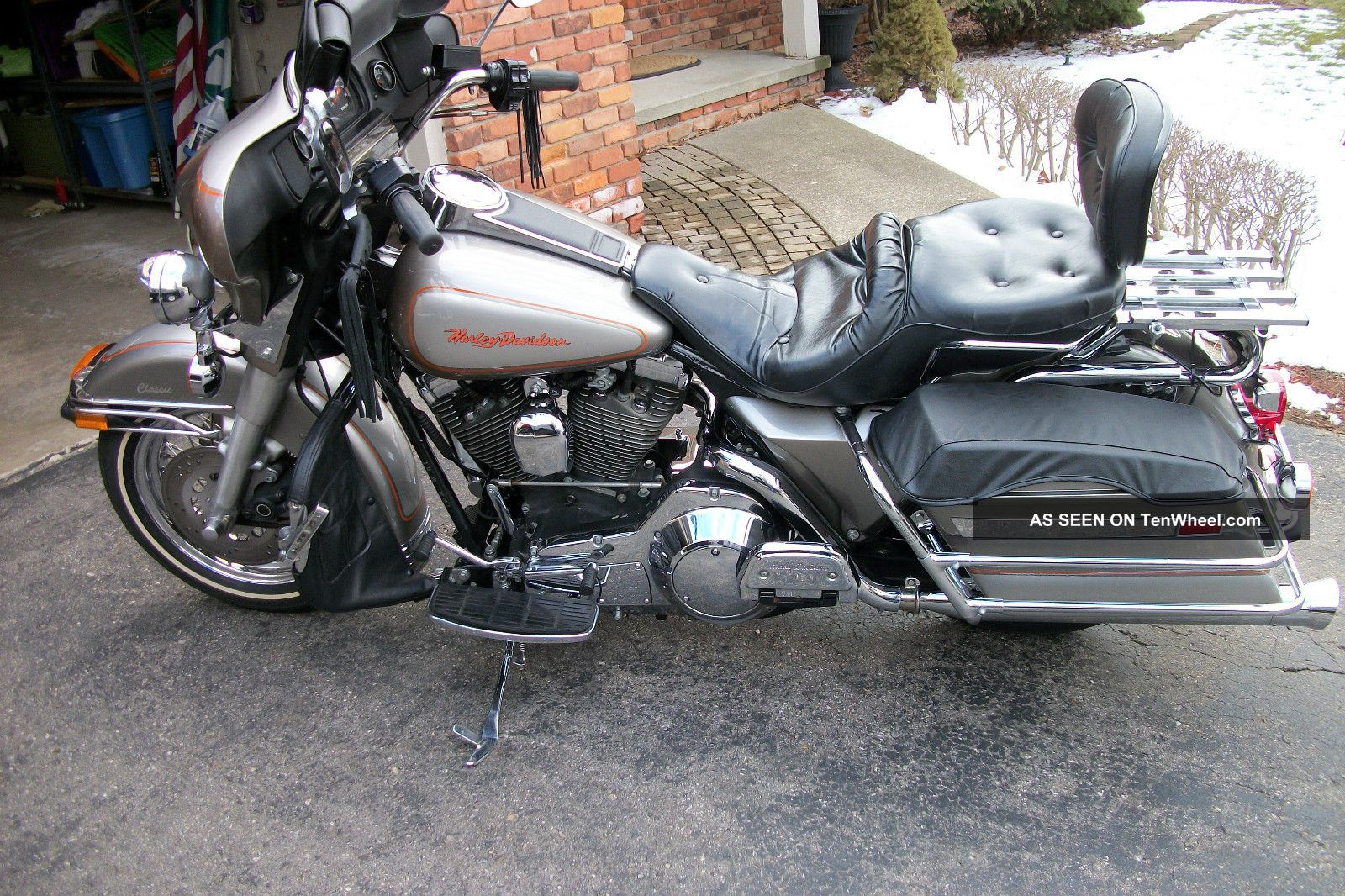 Harley Davidson Electra Glide Classic 1992 Flh Touring photo 11