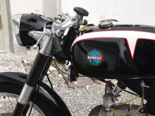 1965 Benelli 200 Sprite Running Titled Moto Giro photo