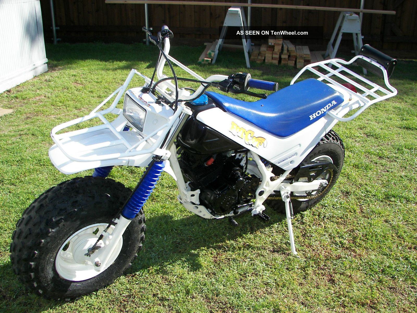 Gently 1986 Honda Tr200 Fatcat Motorcycle Other photo