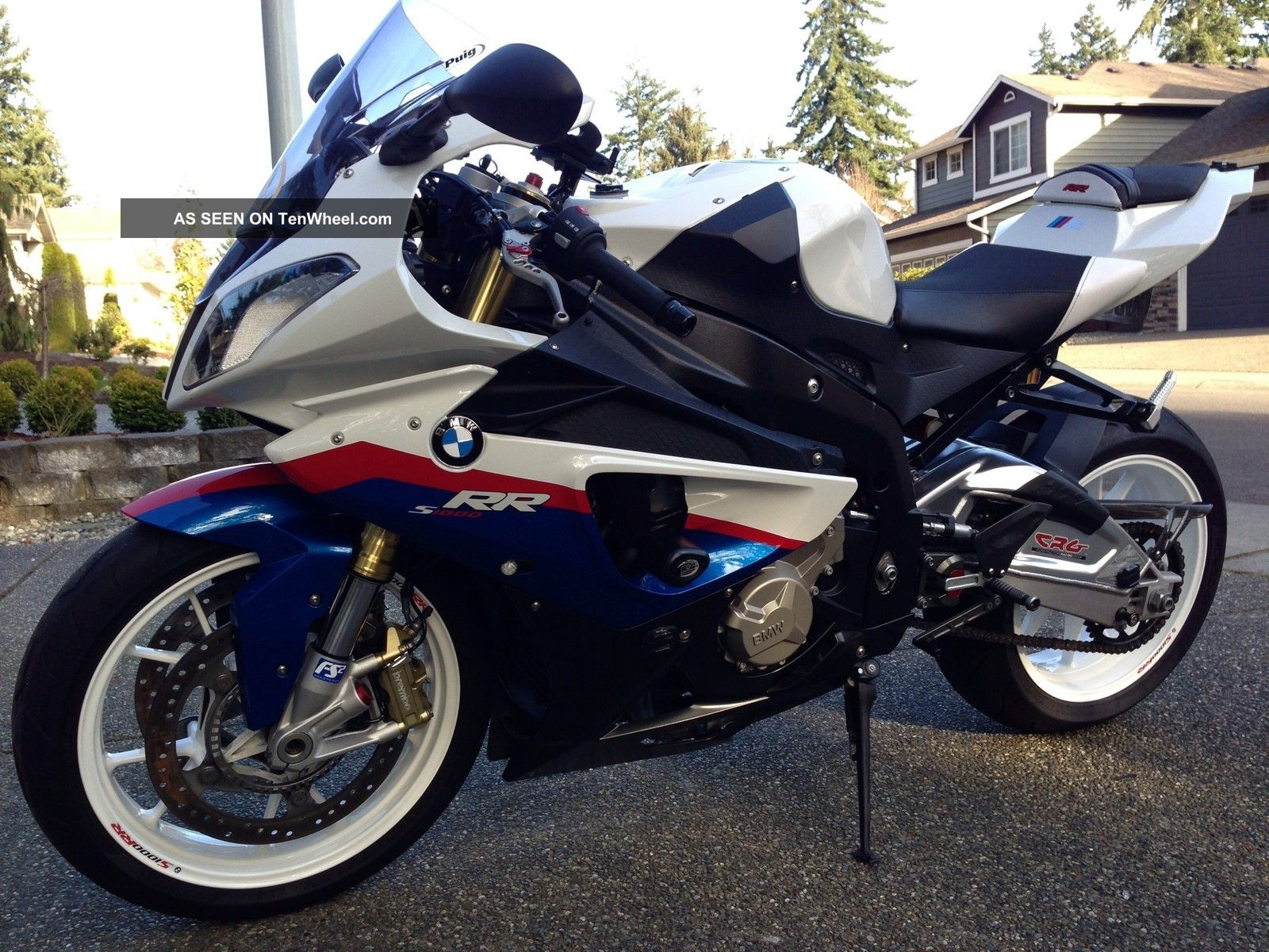 2011 Bmw S1000rr Many Upgrades All Options